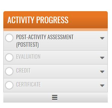 Activity Progress bar image
